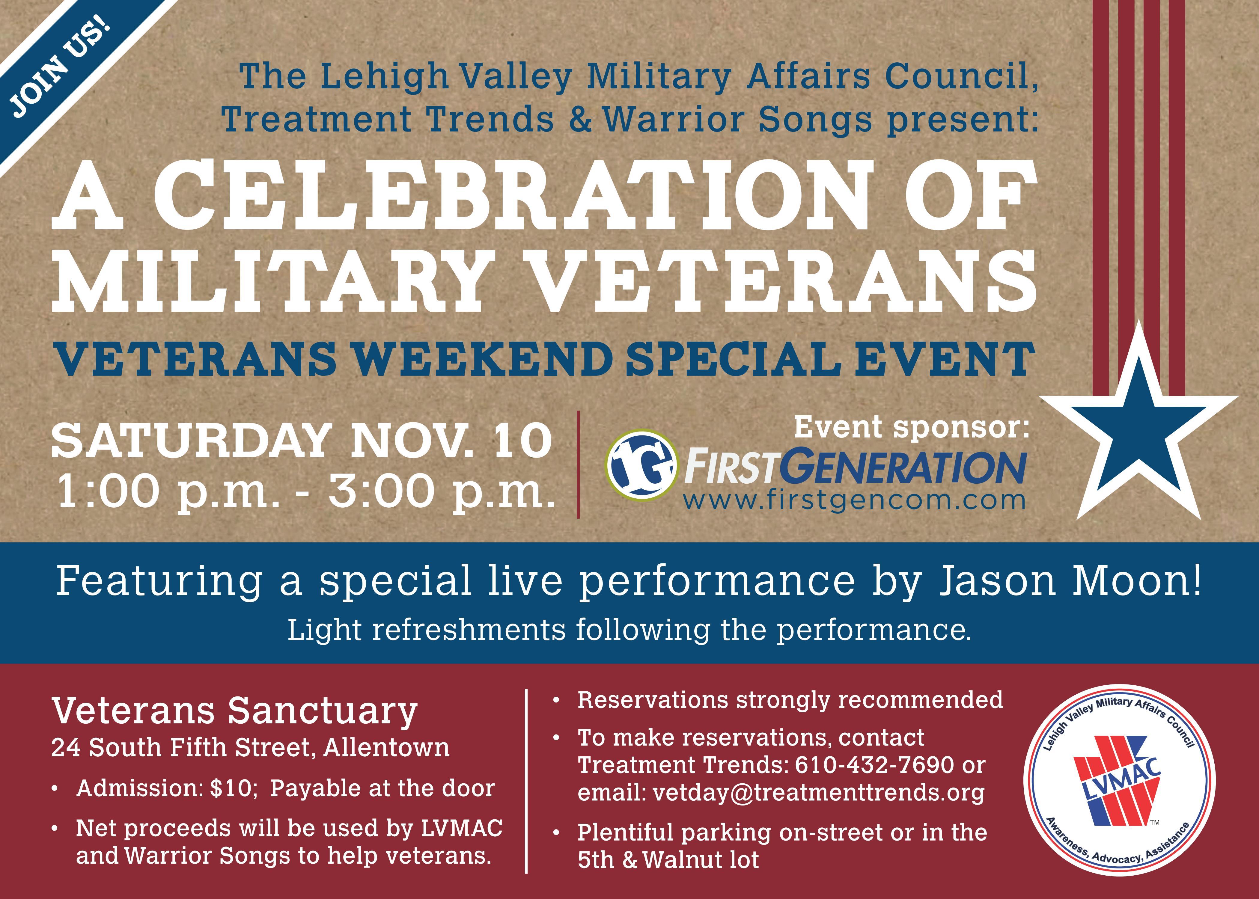 Lvmac Tidbits A Very Special Veterans Event Lehigh Valley