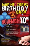 Leatherneck MC USMC Birthday Bash Flyer 10Nov2013