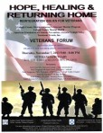 Lehigh County Mentorship Program Veterans Forum Flyer 7Nov2013