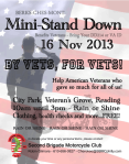 Chapter G, 2nd Bde MC Club  Reading Mini-Stand Down 16Nov2013
