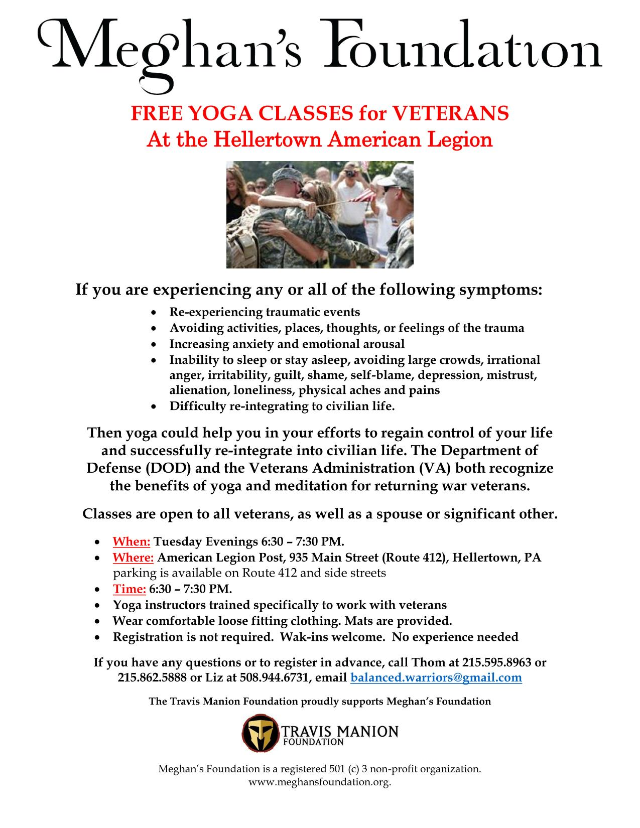 Meghan's Foundation Yoga Flyer Apr-May2014