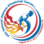 34th National Veterans Wheelchair Games Logo