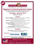 SBA Regional Govt Contracting Workshop Flyer 23Apr2015