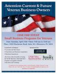 SBA Small Business Lending for Veterans Flyer 25Apr2015