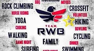 TeamRWB Potential Activities