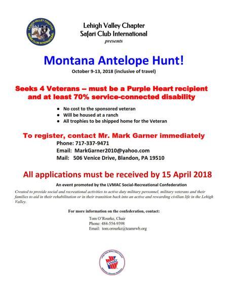 Antelope Hunt -- LVMAC-SRC 9Oct2018