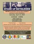 Bethlehem StandUp 13Apr2019